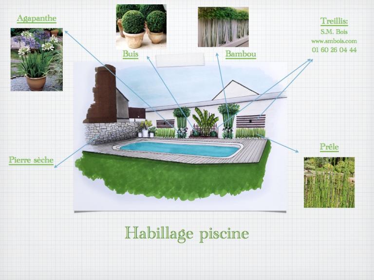 Détail jardin habillage piscine.001