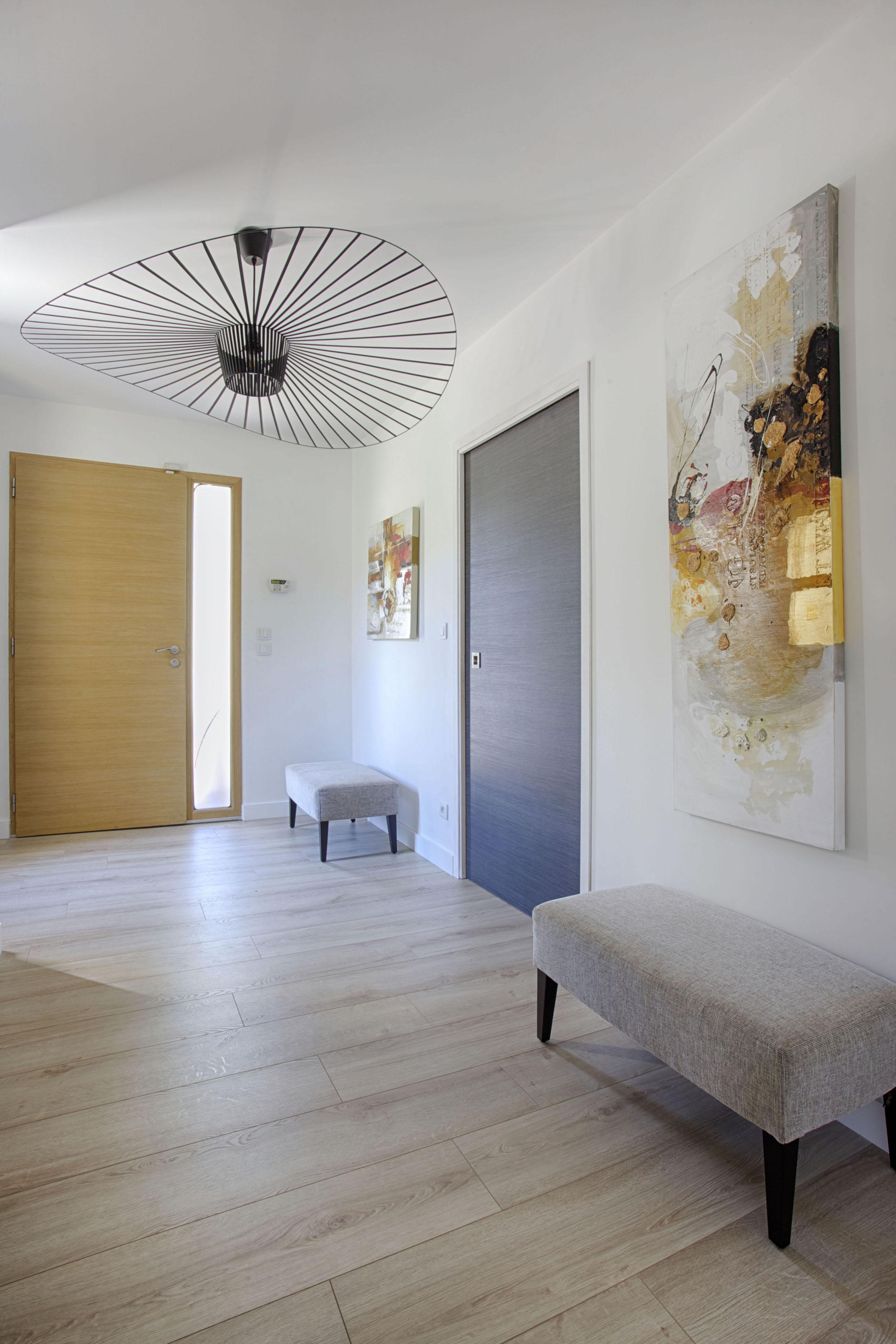 Entrée design avec vertigo 1001 idées Peggy Guezello