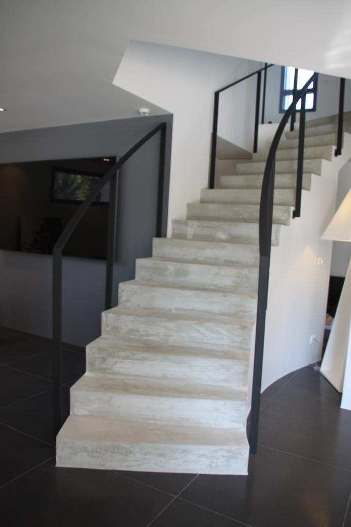 Rembarde d'escalier moderne