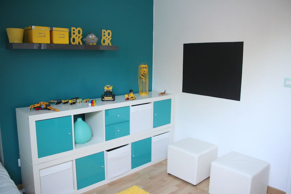 chambre enfant moderne. Black Bedroom Furniture Sets. Home Design Ideas