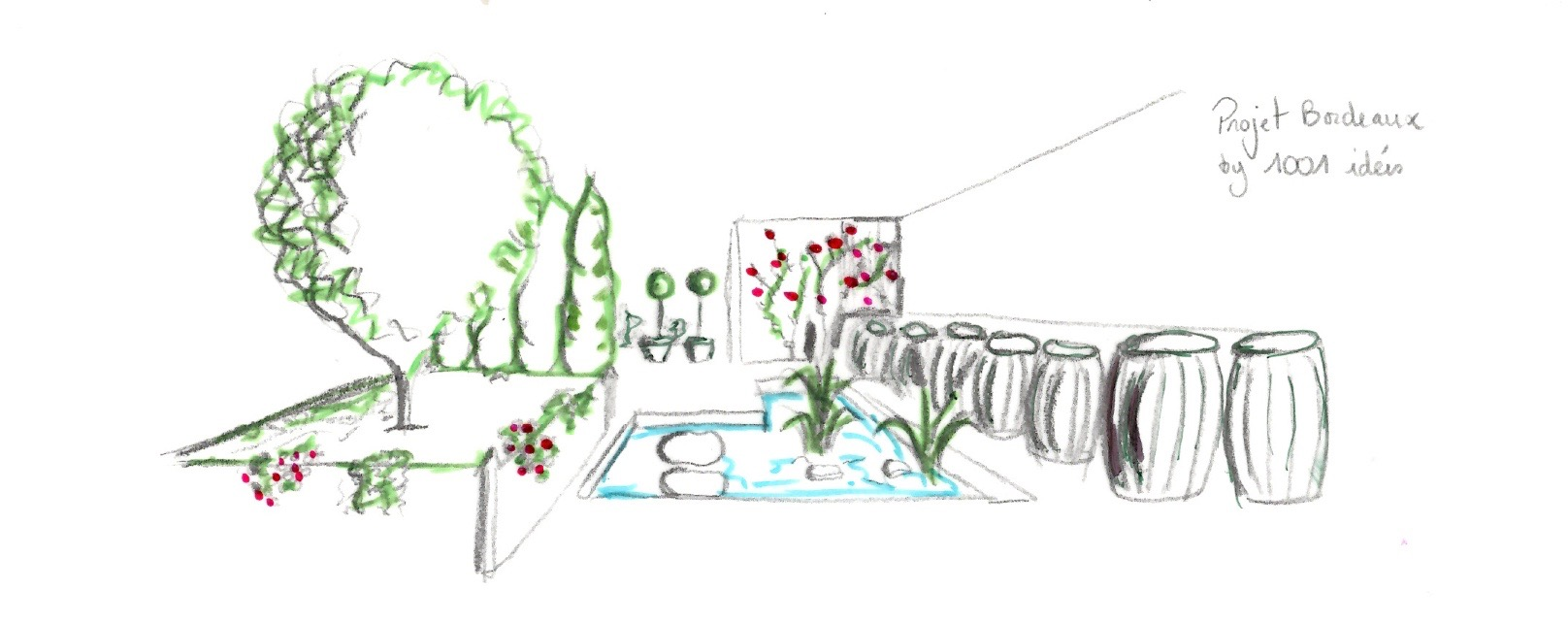 Jardin contemporain 1001 idées
