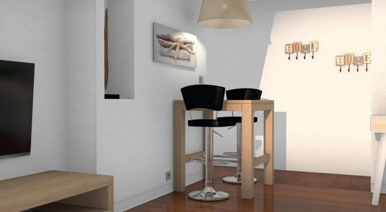 Table et chaises hautes