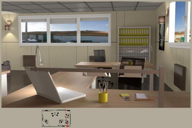 3D bureaux