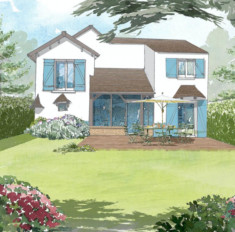 Projet jardin à Lagny 1001 idées