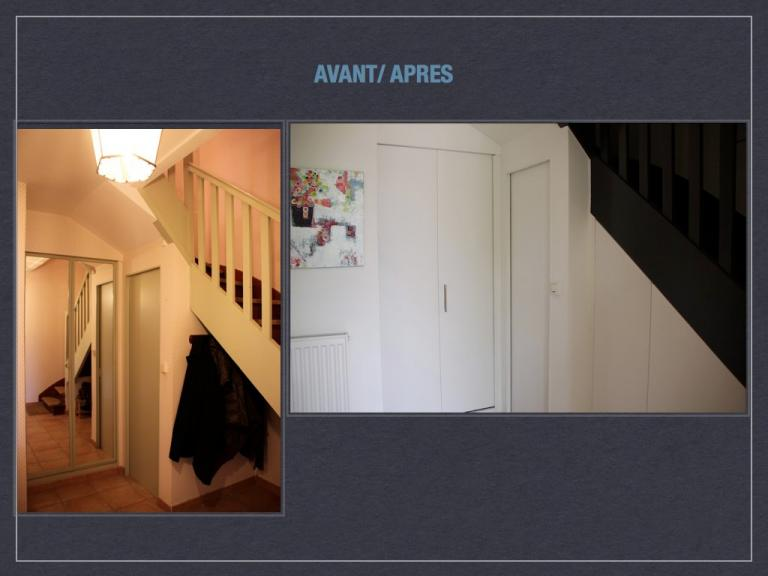 Rangement escaliers