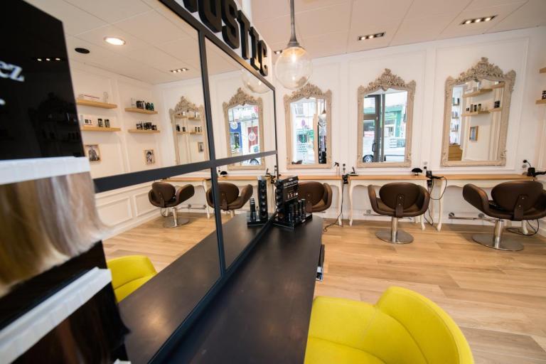 Salon de coiffure fontainebleau style appartement parisien - Salon de coiffure bussy saint georges ...