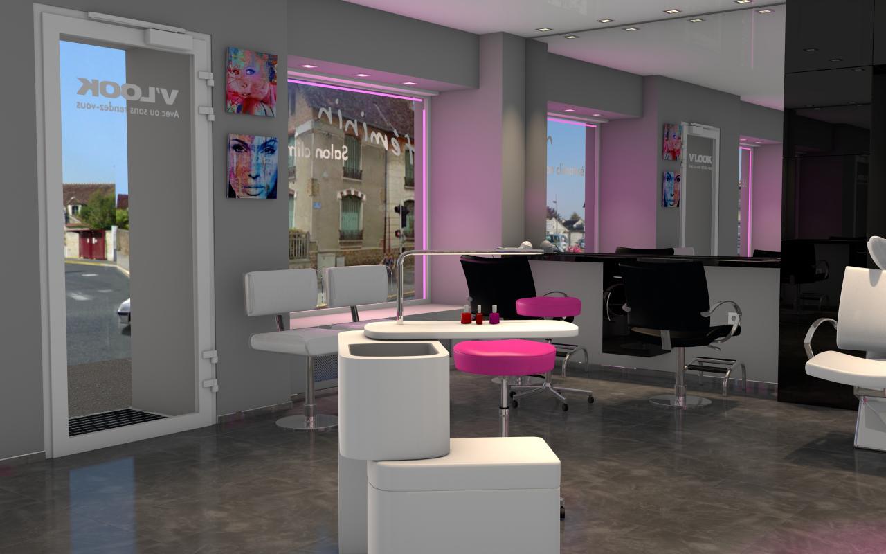 Salon de coiffure moderne lyon id es de design maison et for Salon de coiffure lyon 7