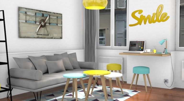 Ameublement d'un appartement à Paris