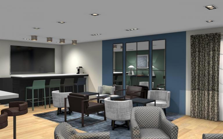 Espace VIP - lounge - bar