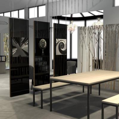 Espace show room glass art: verre spa, bois etc...