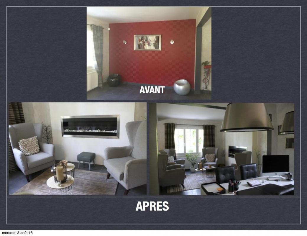avant apr s projet de d coration et d 39 am nagement d 39 espace. Black Bedroom Furniture Sets. Home Design Ideas