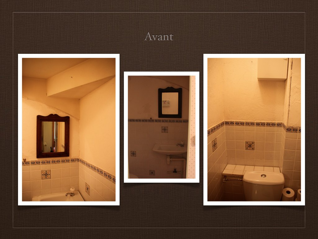 Avant apr s projet de d coration et d 39 am nagement d 39 espace for Amenagement toilette