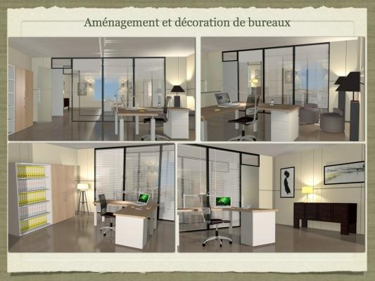 entreprises am nagement de bureaux d coratrice 77. Black Bedroom Furniture Sets. Home Design Ideas