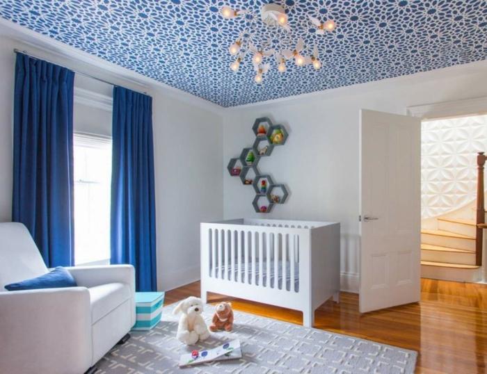 Papier peint au plafond bonne idee