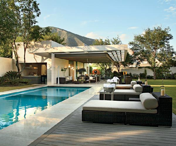 Pool party seating
