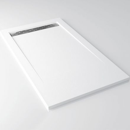 Receveur de douche 110 a 200 cm blanc ardesia