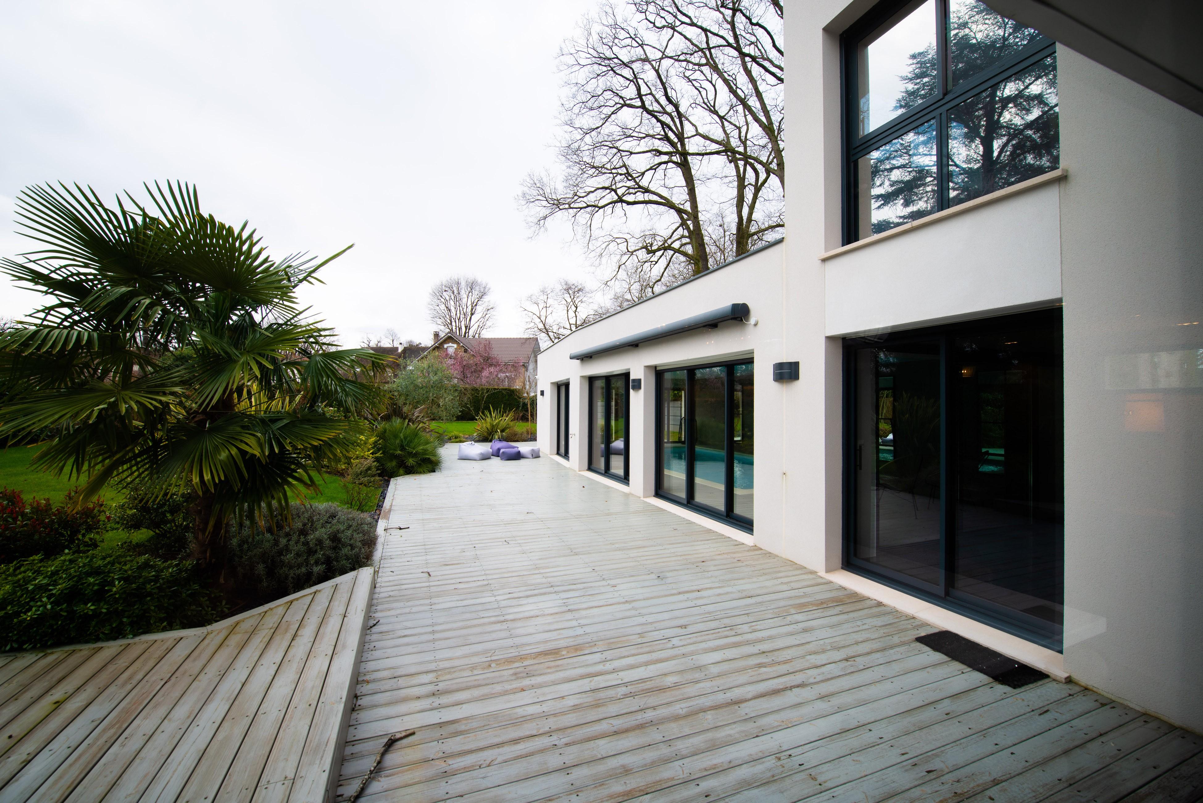 Aménagement terrasse 1001 idées avec luminaire