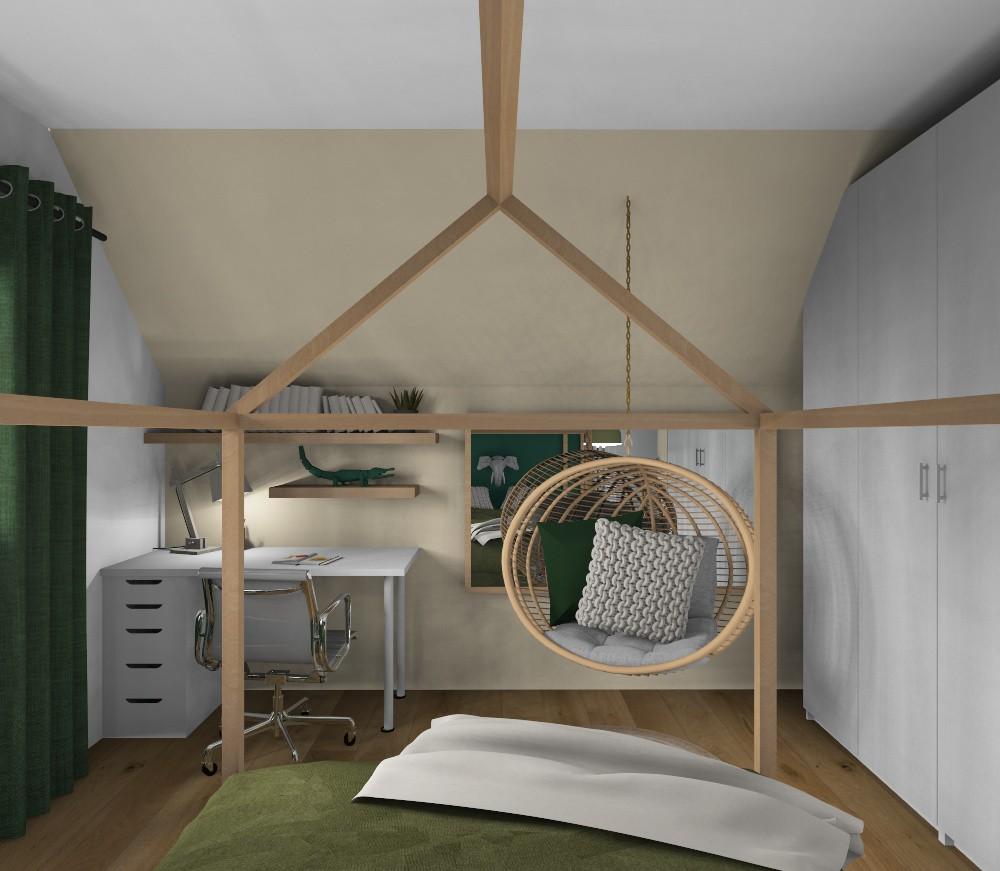Chambre enfant 3d nature peggy guezello