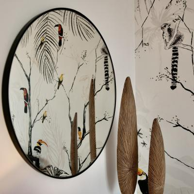 Chessy miroir rond 1001 ide es