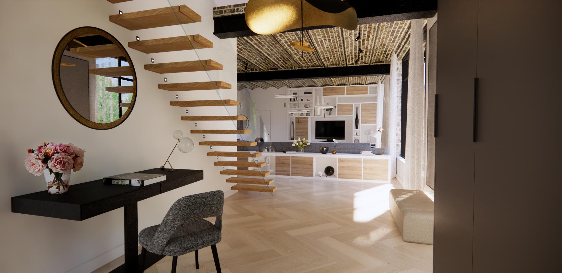 Entre e escalier design