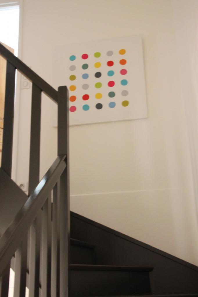 Escaliers gris