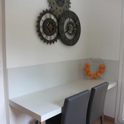 Horloge dans la cuisine