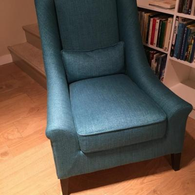 Bergère bleue turquoise