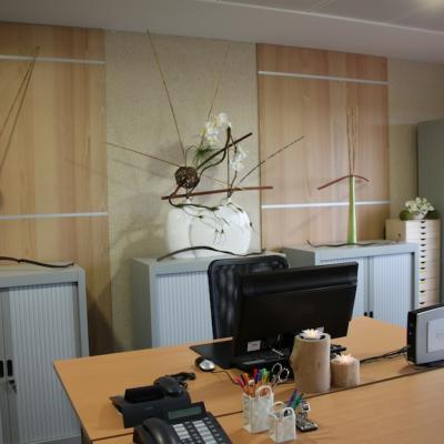 Décoration de bureau au Carré Haussman