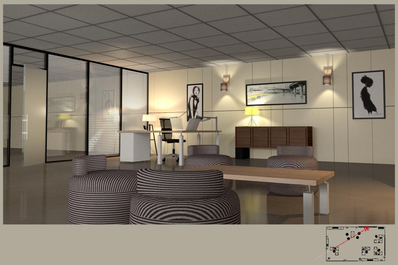 Aménagement et décoration de bureaux en open space