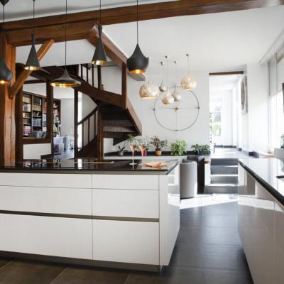 Modernisation d'une cuisine / séjour à Ozouer le Voulgis
