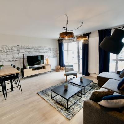 Peggy guezello 1001 ide es appartement chessy sejour