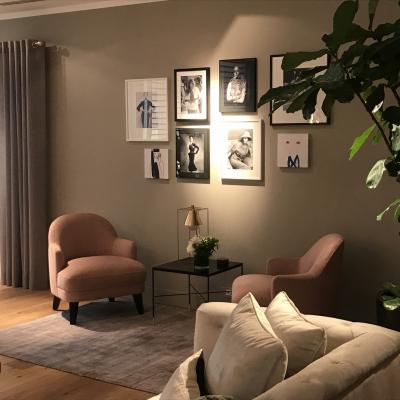 Peggy Guezello 1001 idées coin cosy avec fauteuil rose