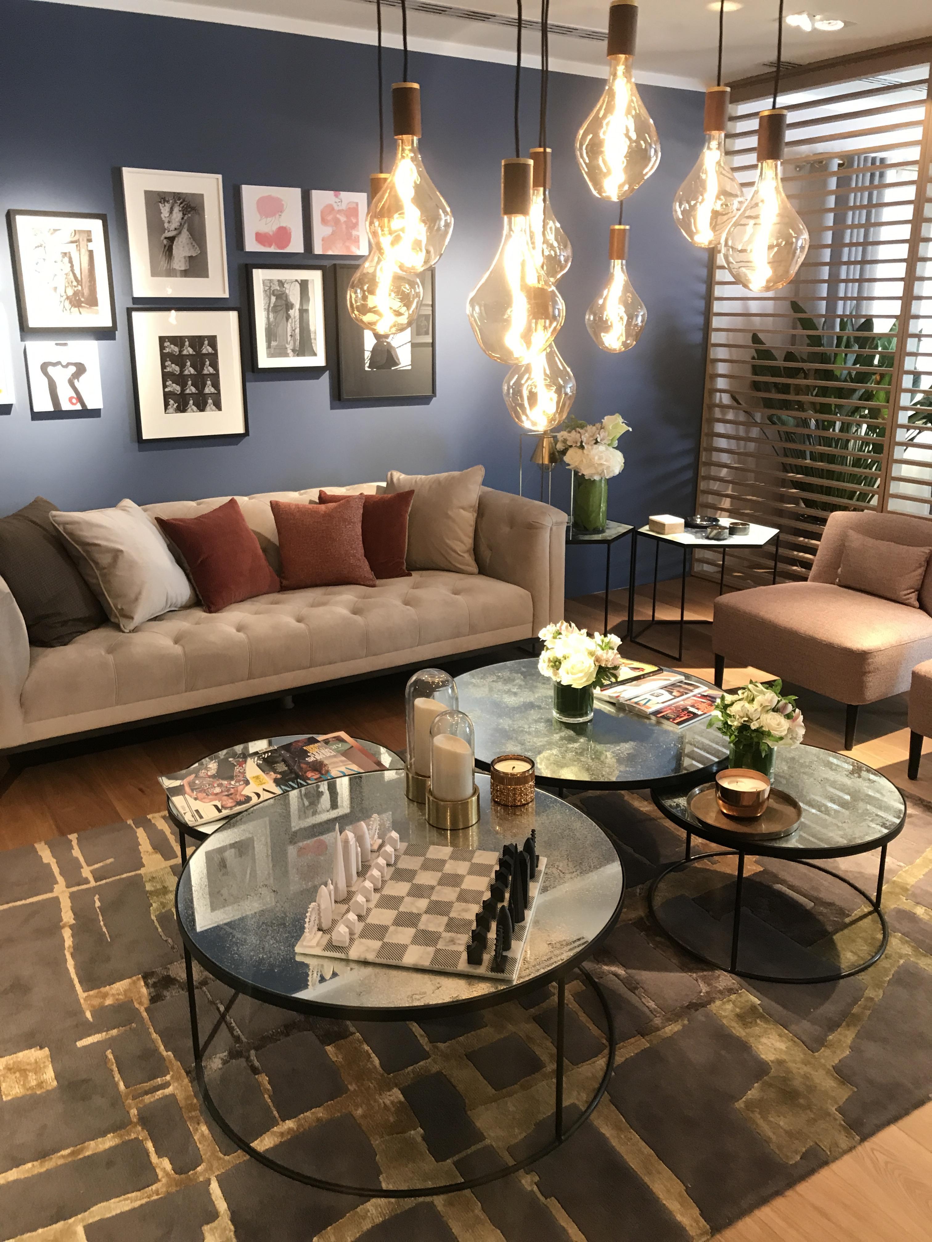 Peggy Guezello 15 idées déco de salon moderne et chaleureux et