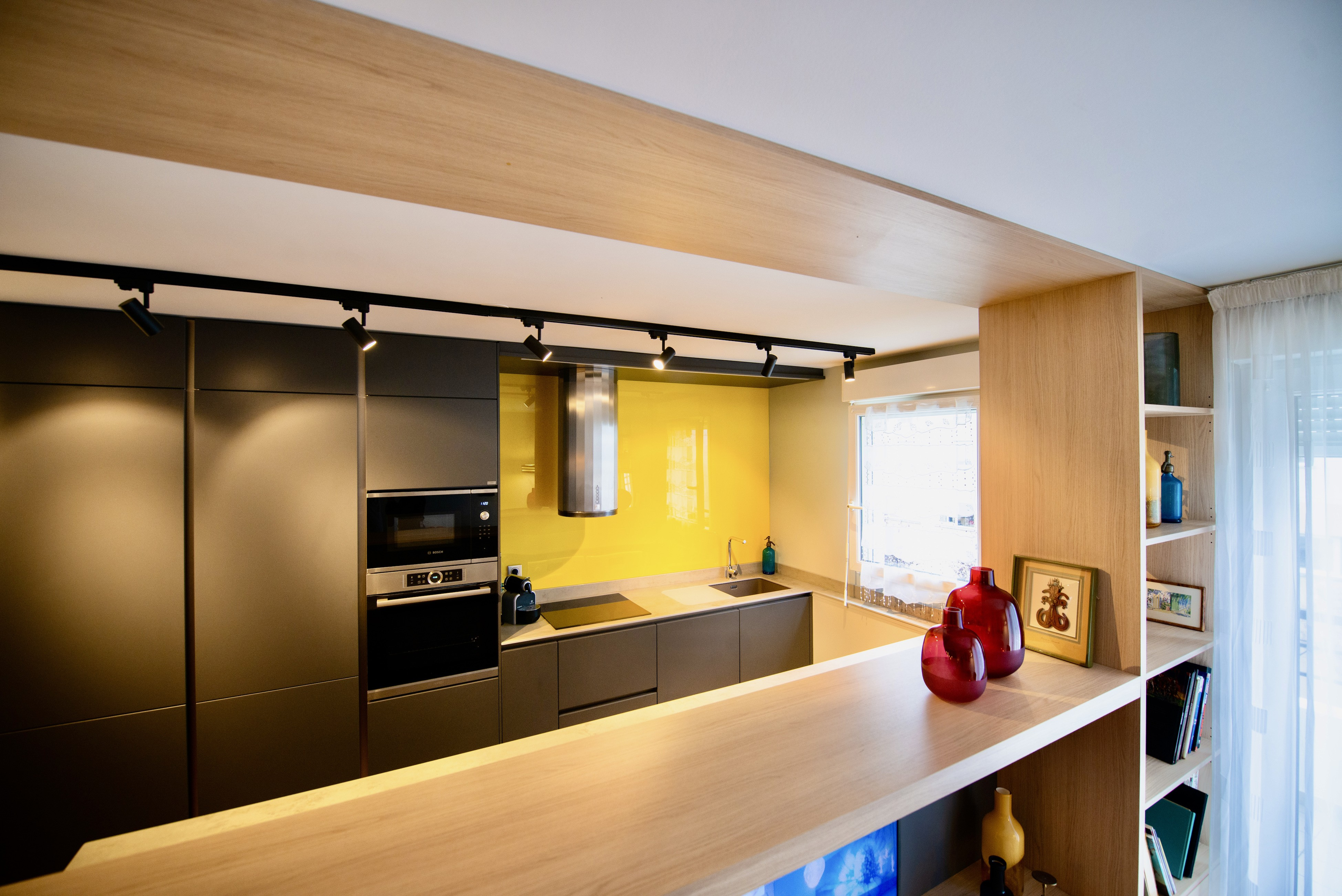 Peggy guezello 1001 ide es meuble tv sur mesure pour se parer la cuisine su salon