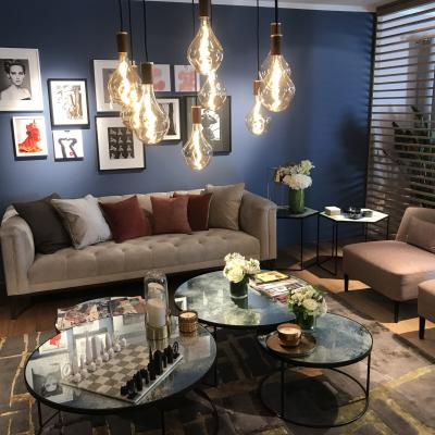 Peggy Guezello 1001 idées salon VIP avec tapis serge lesage