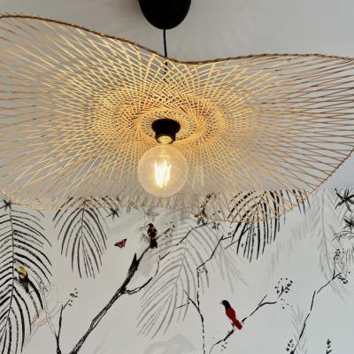 Peggy guezello 1001 ide es suspension et papier peint panoramique tropical