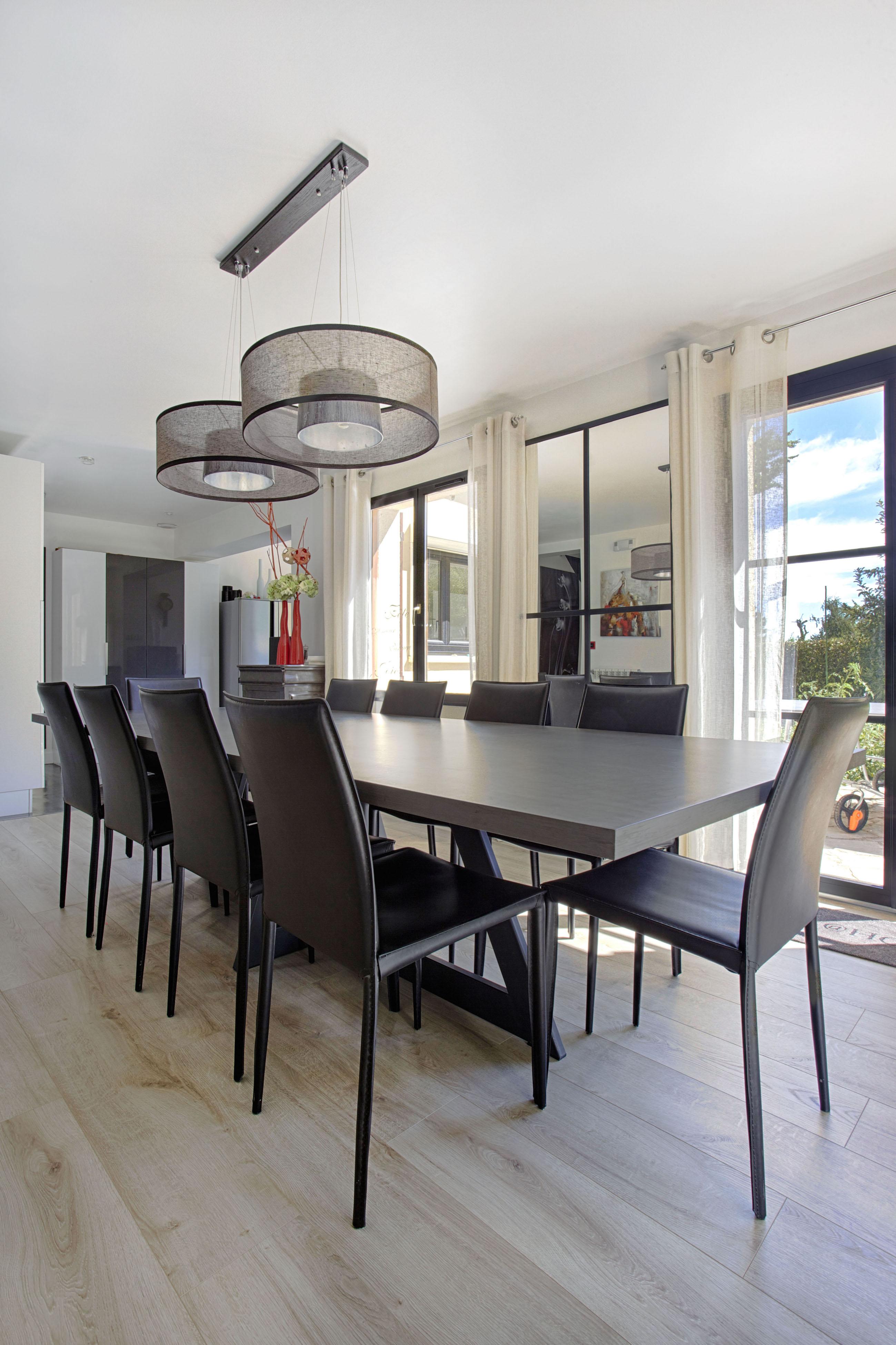 décoration de salon, salle à manger, entrée moderne