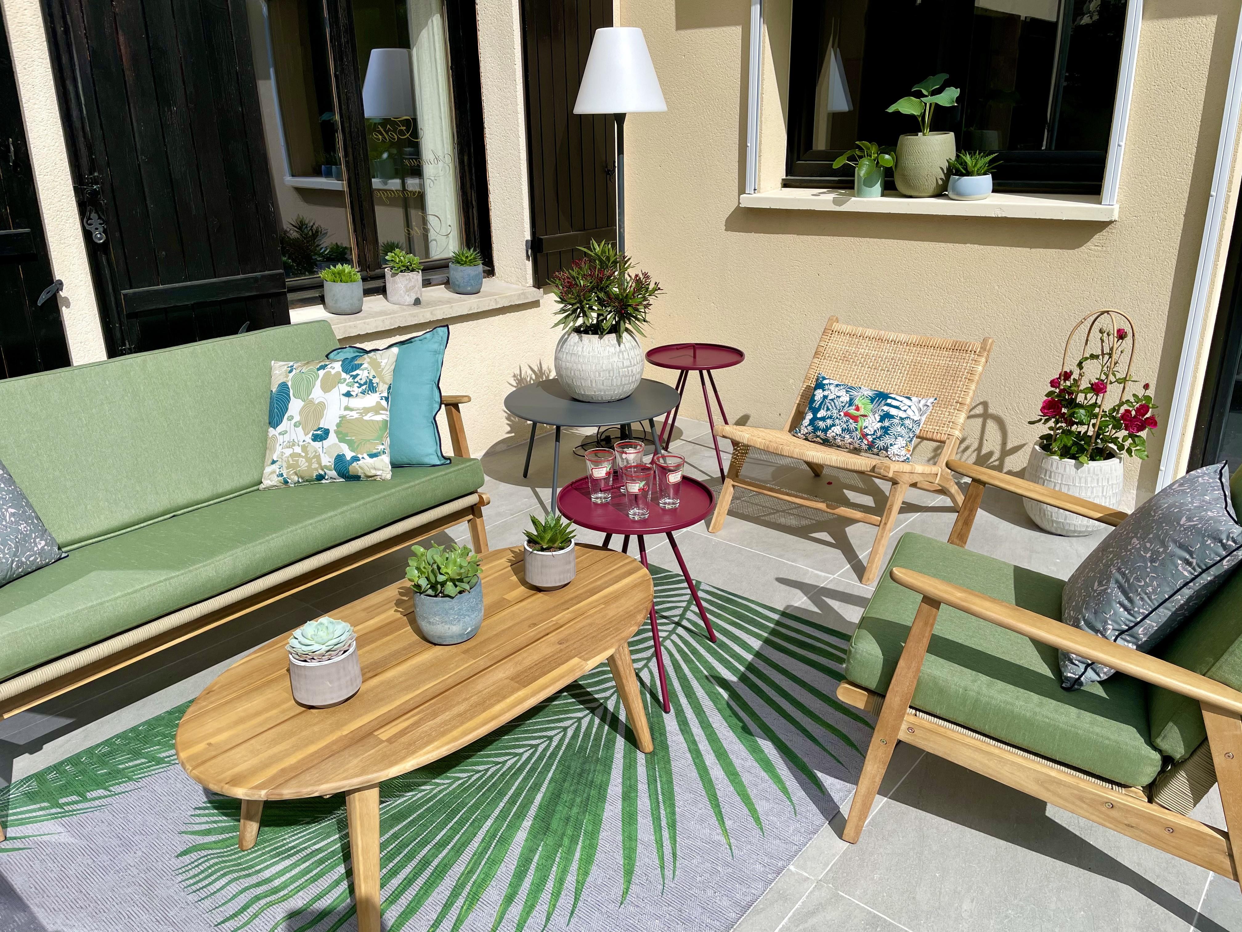 Salon peggy guezello ame nagement de jardi et terrasse