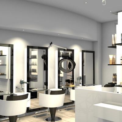 Salon Parisien noir et blanc