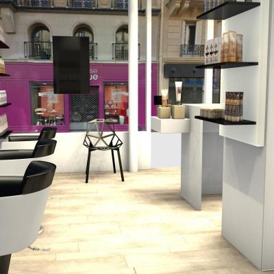 Salon de coiffure du Pont Neuf Paris 1er
