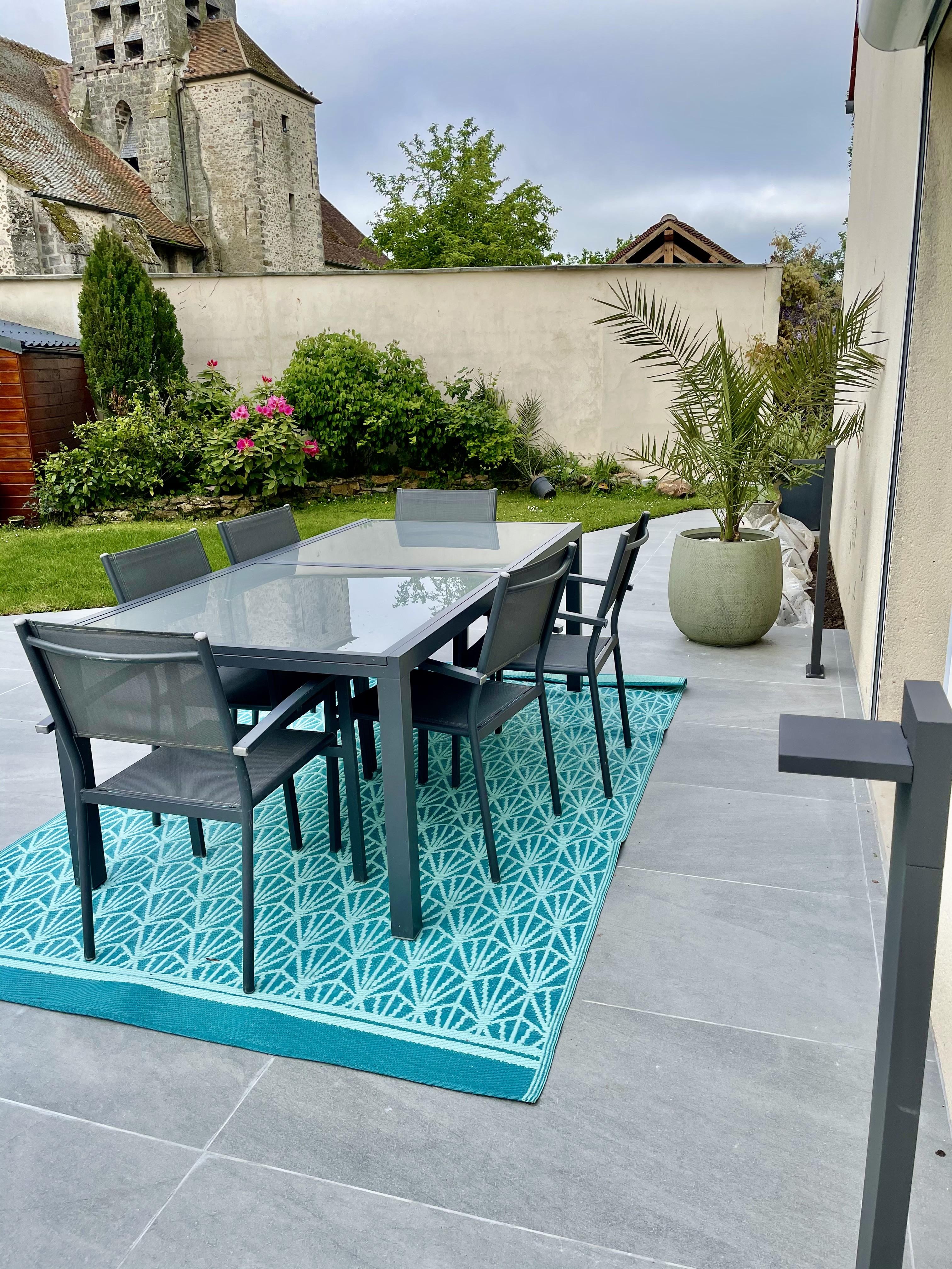 Table d exte rieur peggy guezello ame nagement de jardi et terrasse