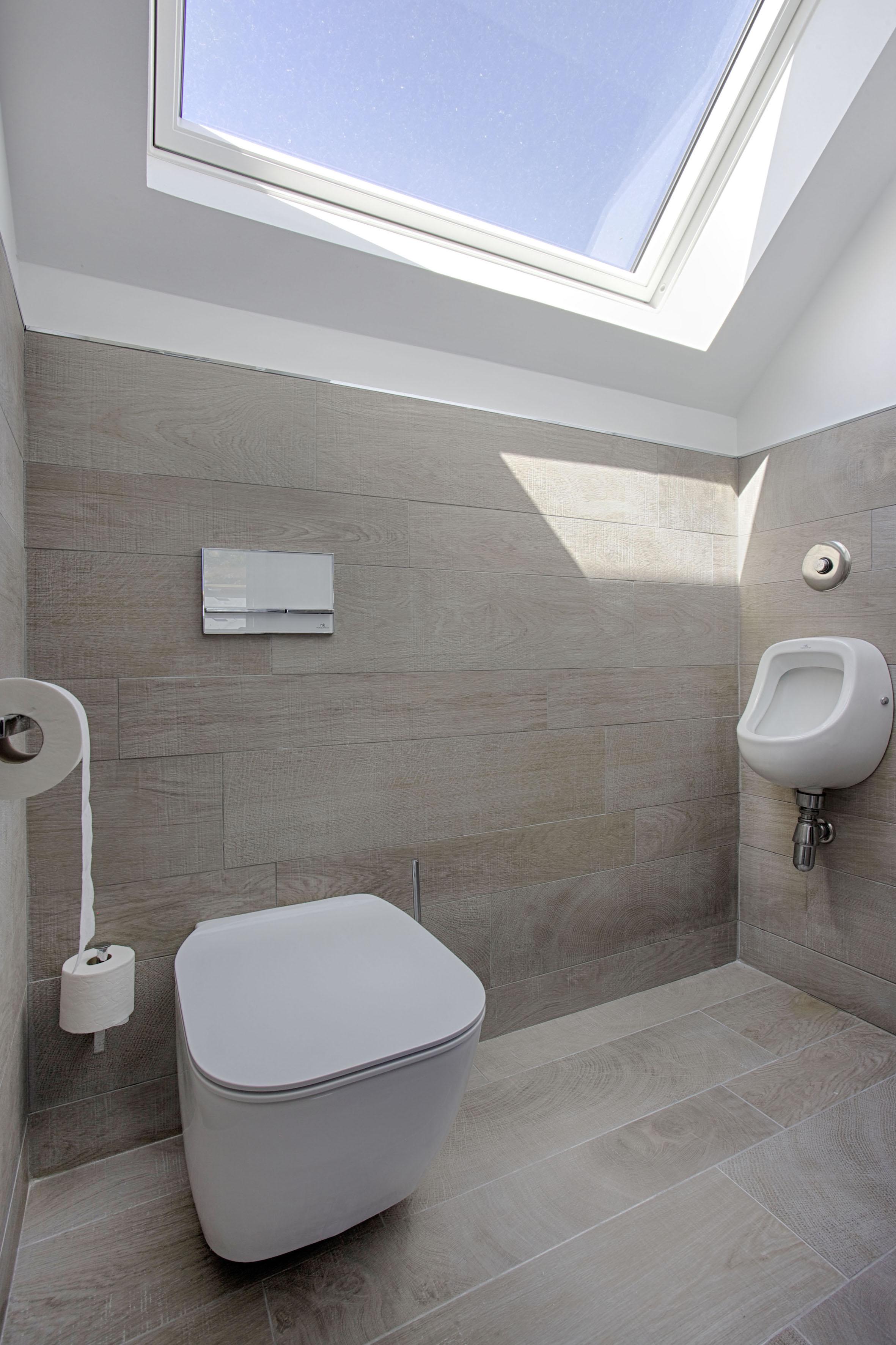 Toilette moderne Porcelanosa par Peggy Guezello 1001 idées
