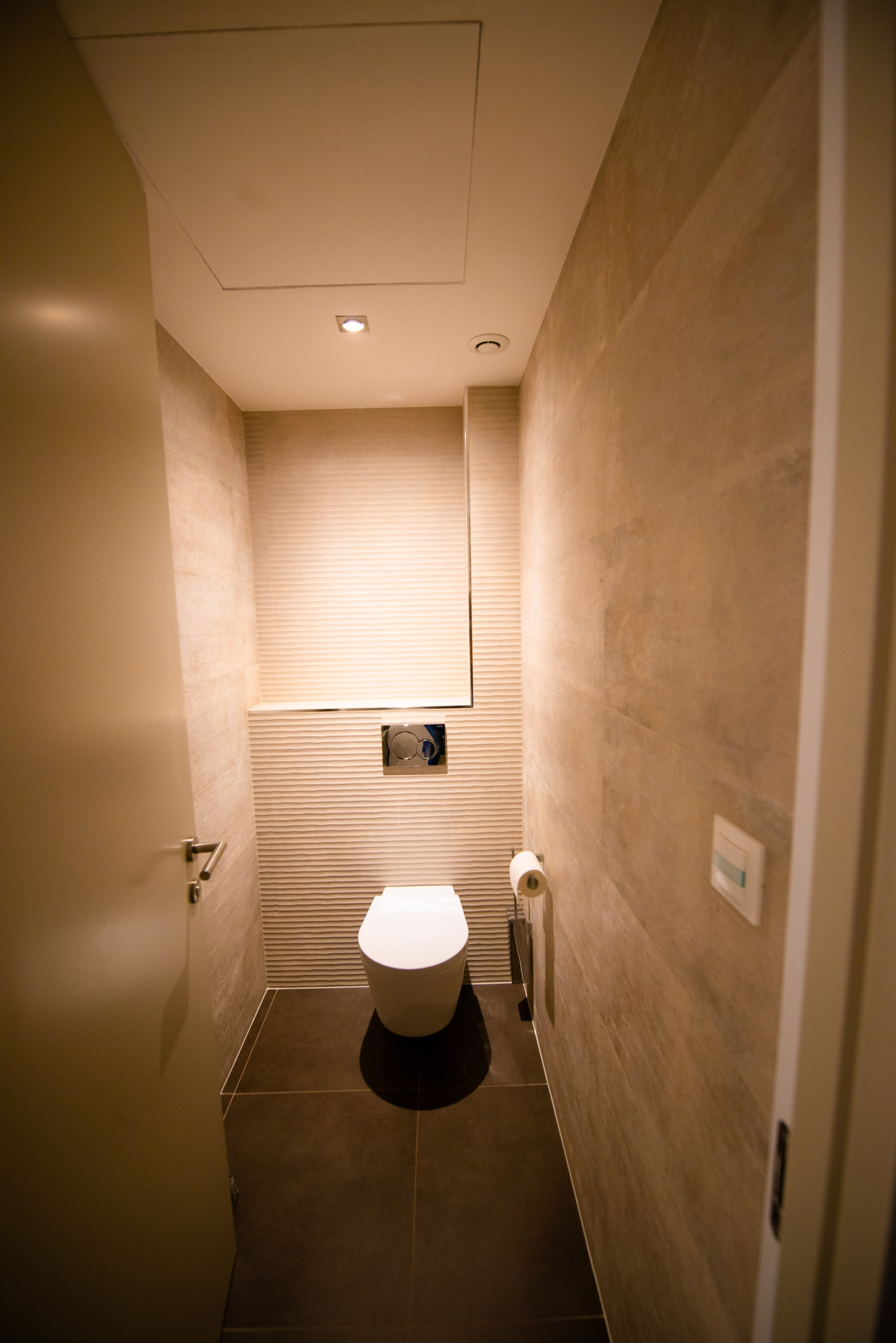 Toilette suspendu moderne