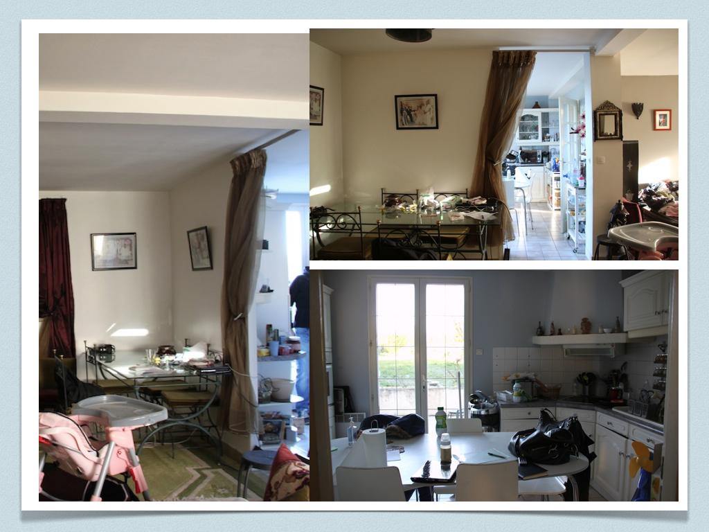 Agencement Salon Salle À Manger Rectangulaire avant/ après: projet de décoration et d'aménagement d'espace