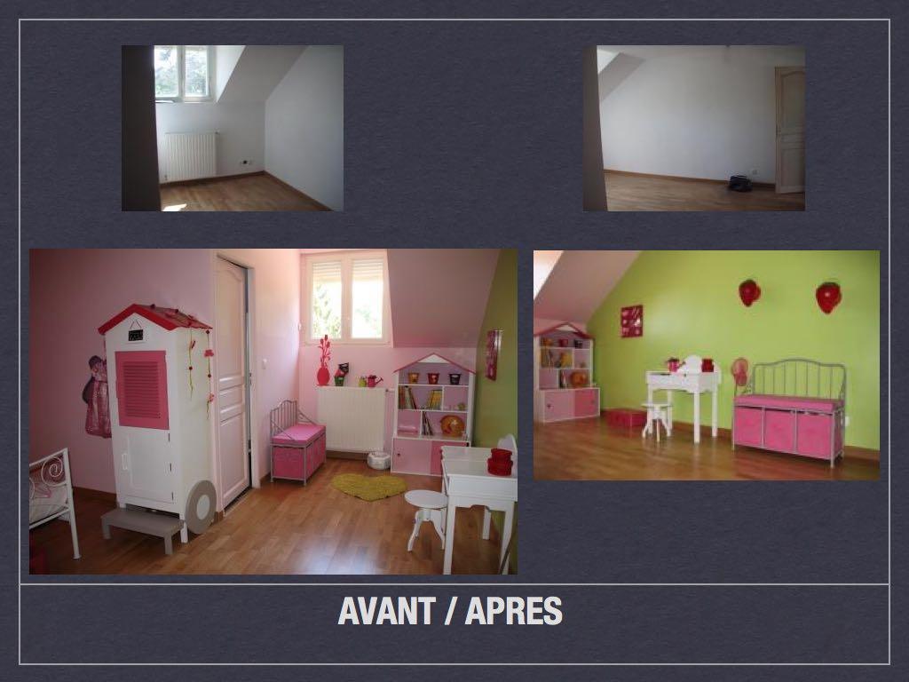 Model Chambre De Fille avant/ après: projet de décoration et d'aménagement d'espace