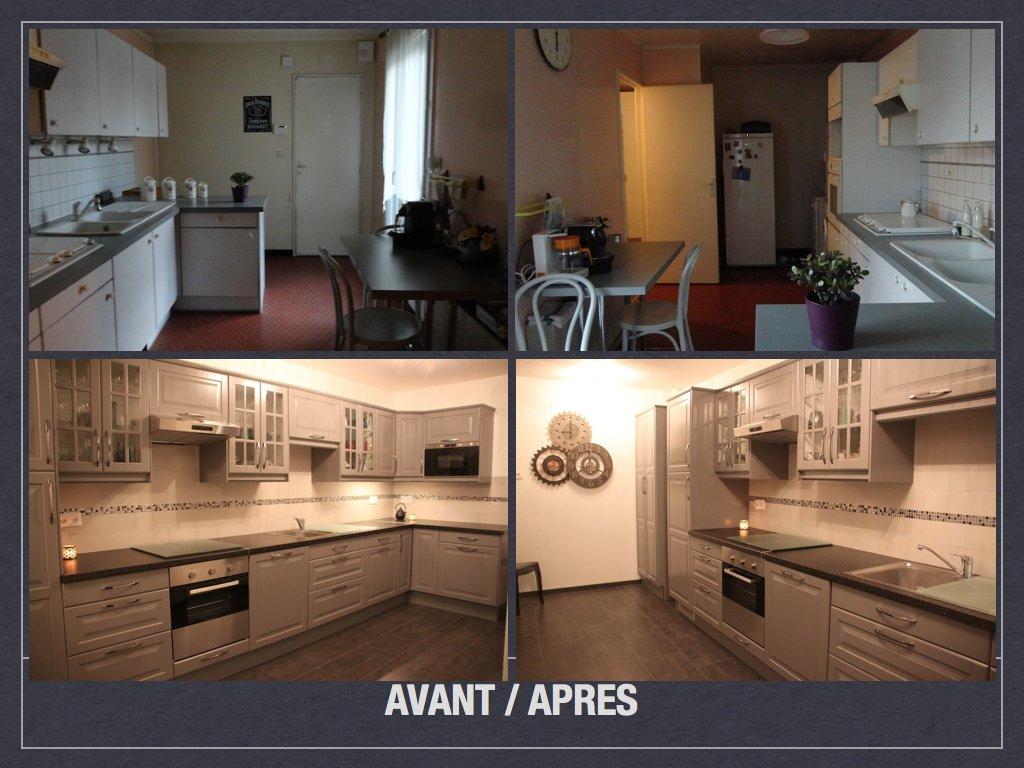 Relooking Cuisine Avant Après avant/ après: projet de décoration et d'aménagement d'espace