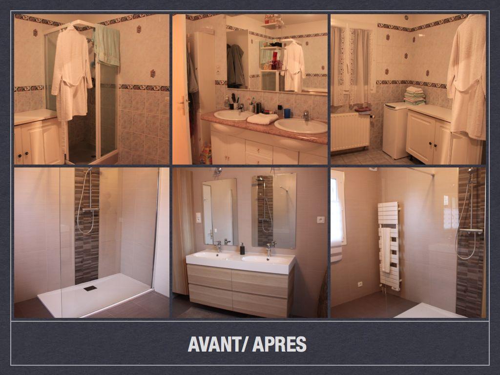 Idée Peinture Petite Salle De Bain avant/ après: projet de décoration et d'aménagement d'espace