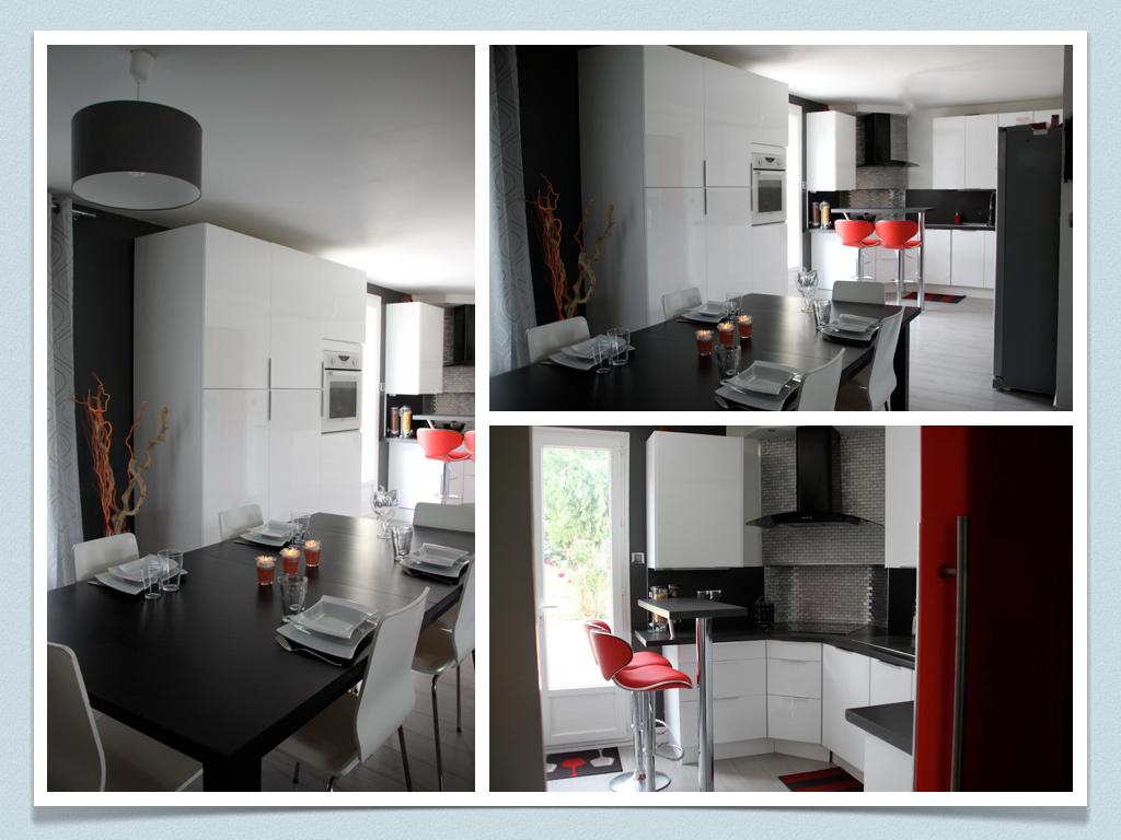 Amenagement Petit Salon Salle A Manger Cuisine avant/ après: projet de décoration et d'aménagement d'espace