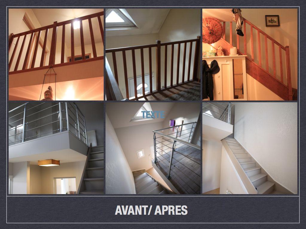 Quelle Couleur Pour Une Cage D Escalier avant/ après: projet de décoration et d'aménagement d'espace