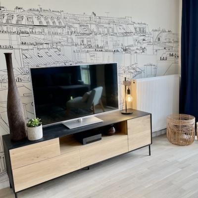 Peggy guezello 1001 ide es meuble tv appartement chessy